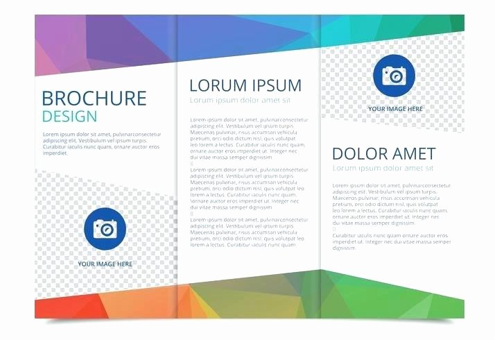 Brochure Templates for Google Drive Download Three Panel