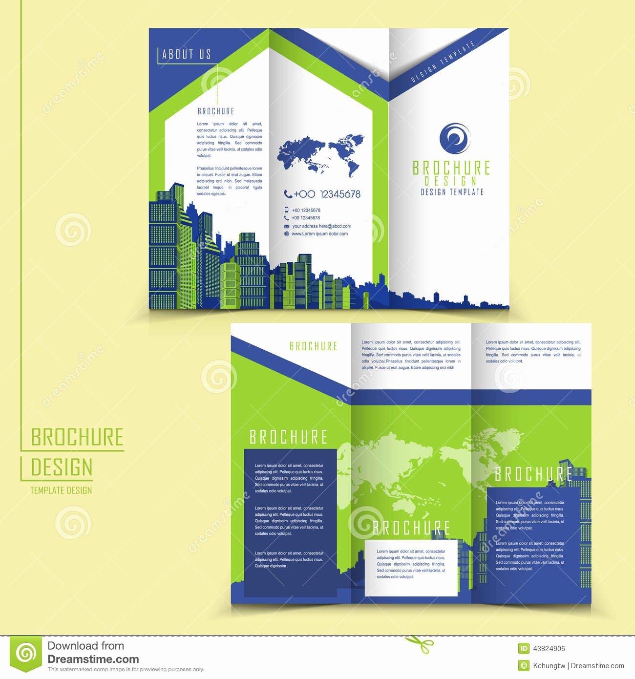 Brochure Tri Fold Brochure Template