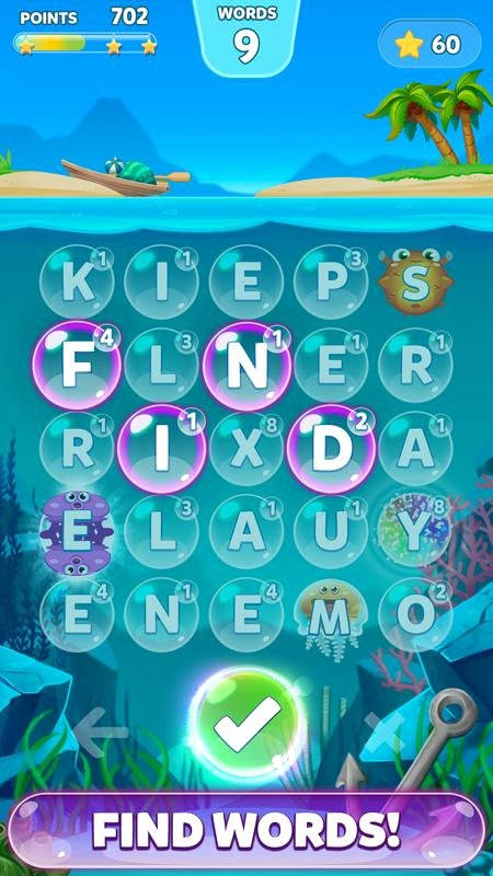 Bubble Words Letter Splash Apk Download Free Word Game