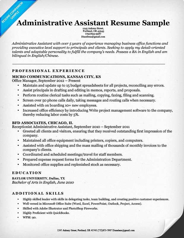 Bud assistant Resume