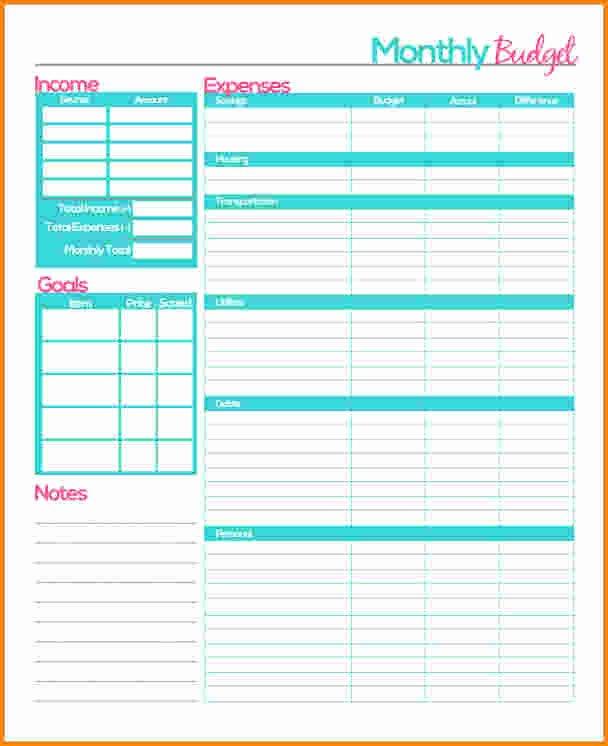 Bud Planner Worksheet Free Free Printable Bud