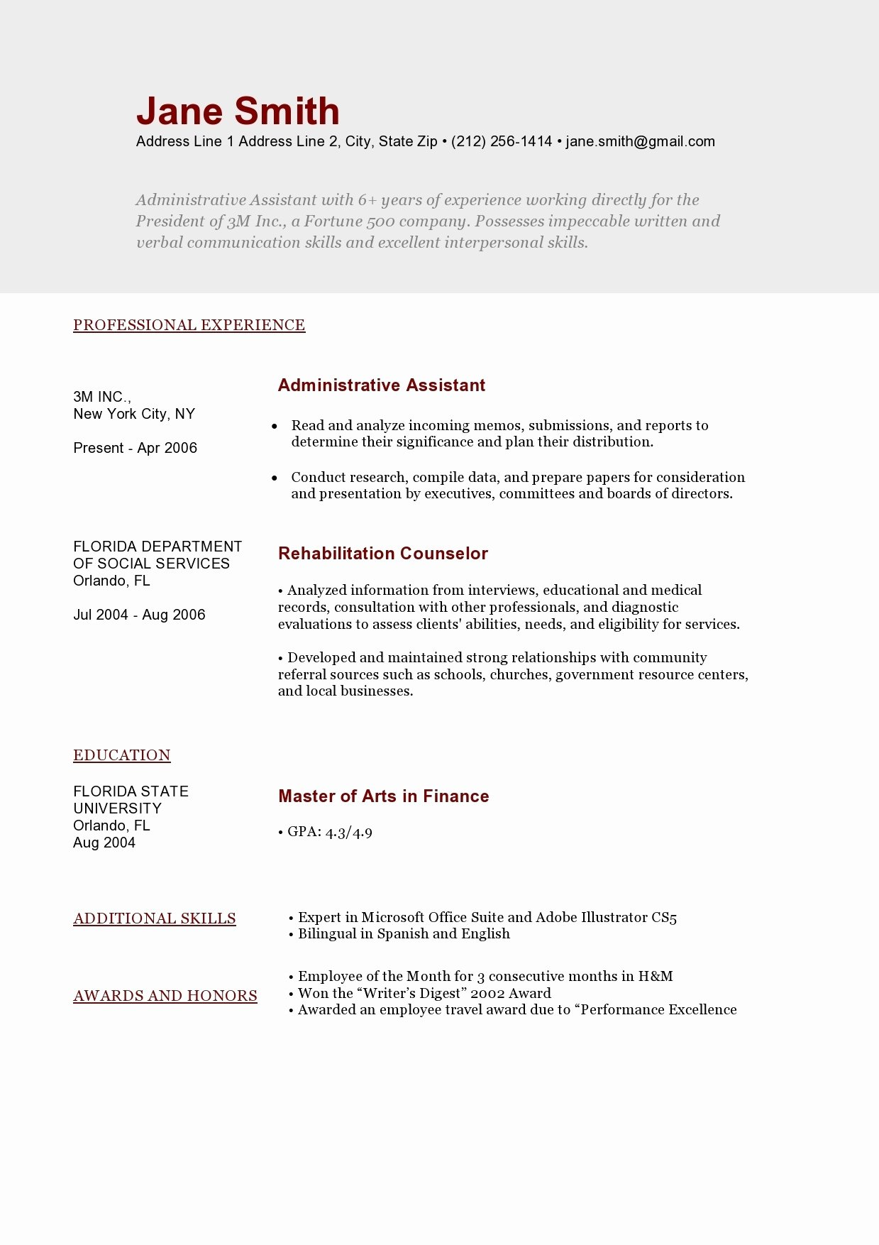 Build My Resume for Free