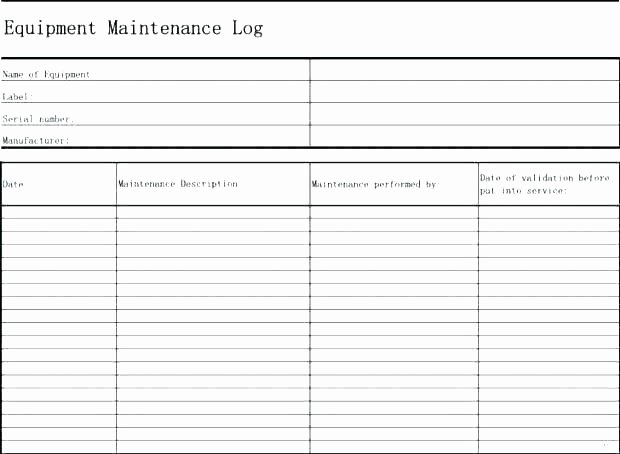 Building Maintenance Plan Template Download Preventive