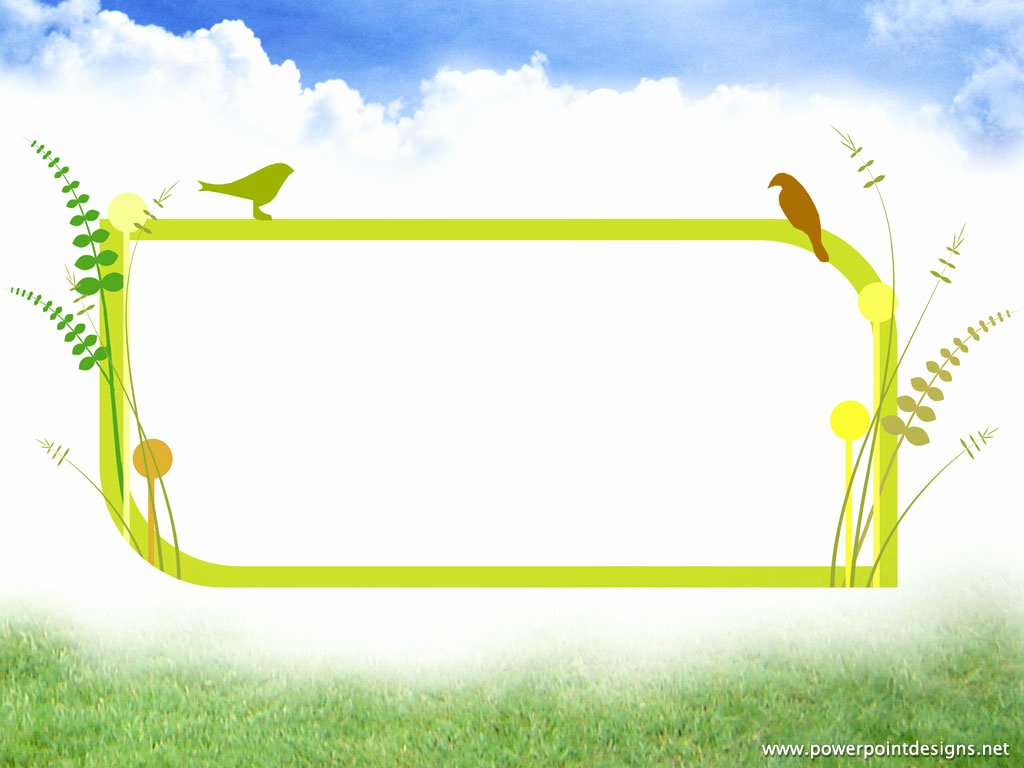 Buildings Sky Birds Backgrounds for Powerpoint