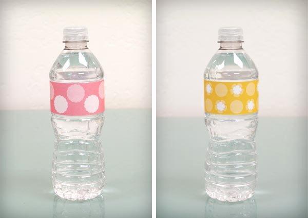 Bump Smitten Diy Shower Water Bottle Labels Free Download