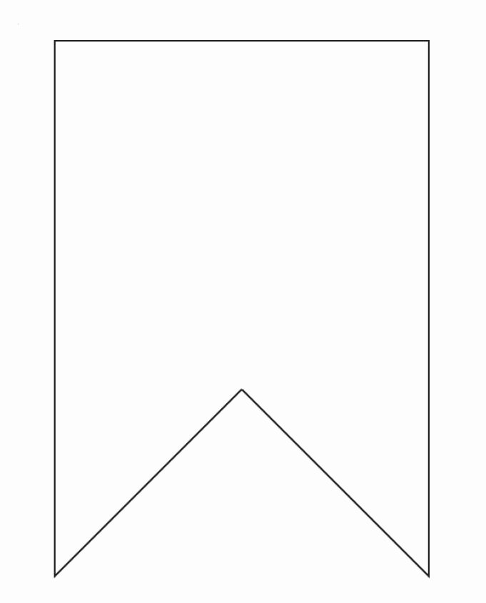 Bunting Template On Pinterest