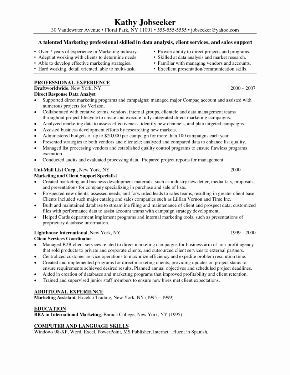 Business Analyst Resume Indeed Latter Example Template