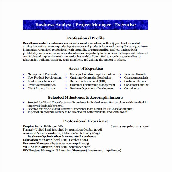 Business Analyst Resume Sample Pdf Cover Letter Samples
