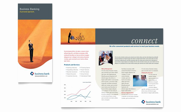Business Bank Brochure Template Word & Publisher