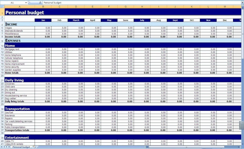Business Bud Templates for Excel