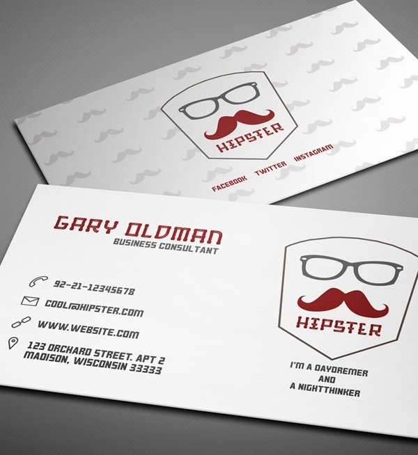 Business Card Free Templates for Blank Indesign Business
