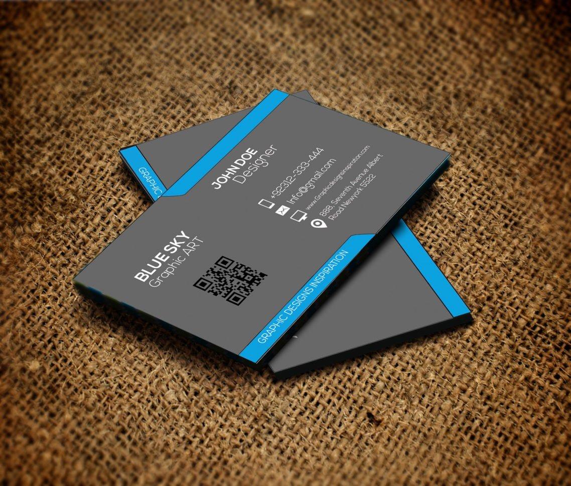 Business Card Illustrator Template Free Business Card Idea