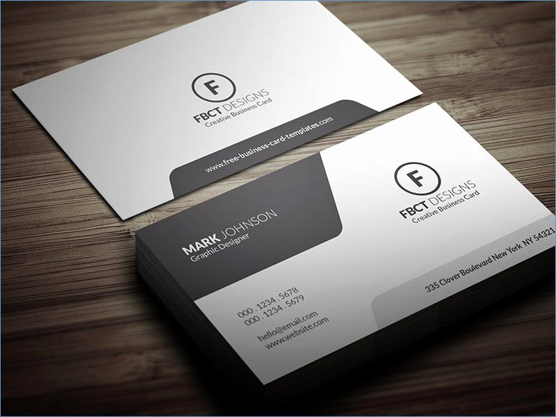 Business Card Indesign Indesign Business Card Template