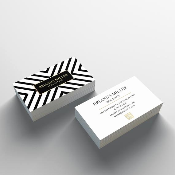 Business Card Template 2 Sided Business Card Design by