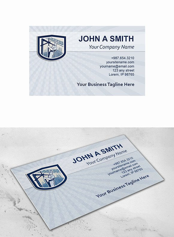 Business Card Template Construction Business Card