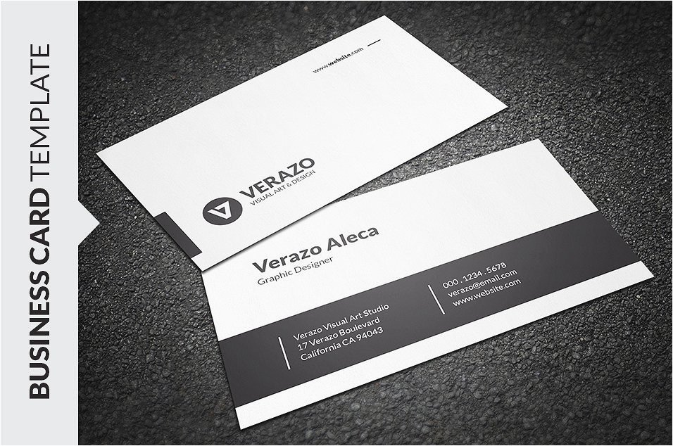 Business Card Template Indesign S Word Business Card