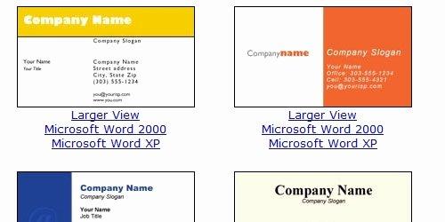 Business Card Template Microsoft Word Beepmunk