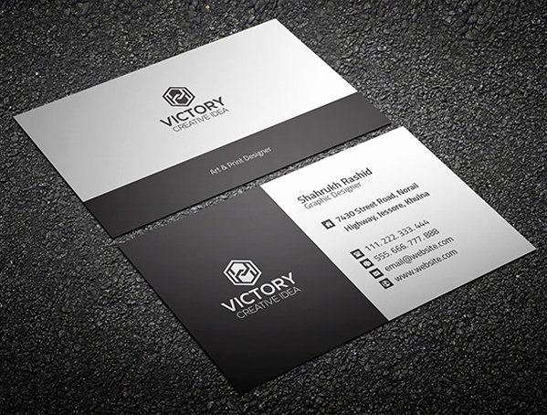 Business Card Template Psd Beepmunk