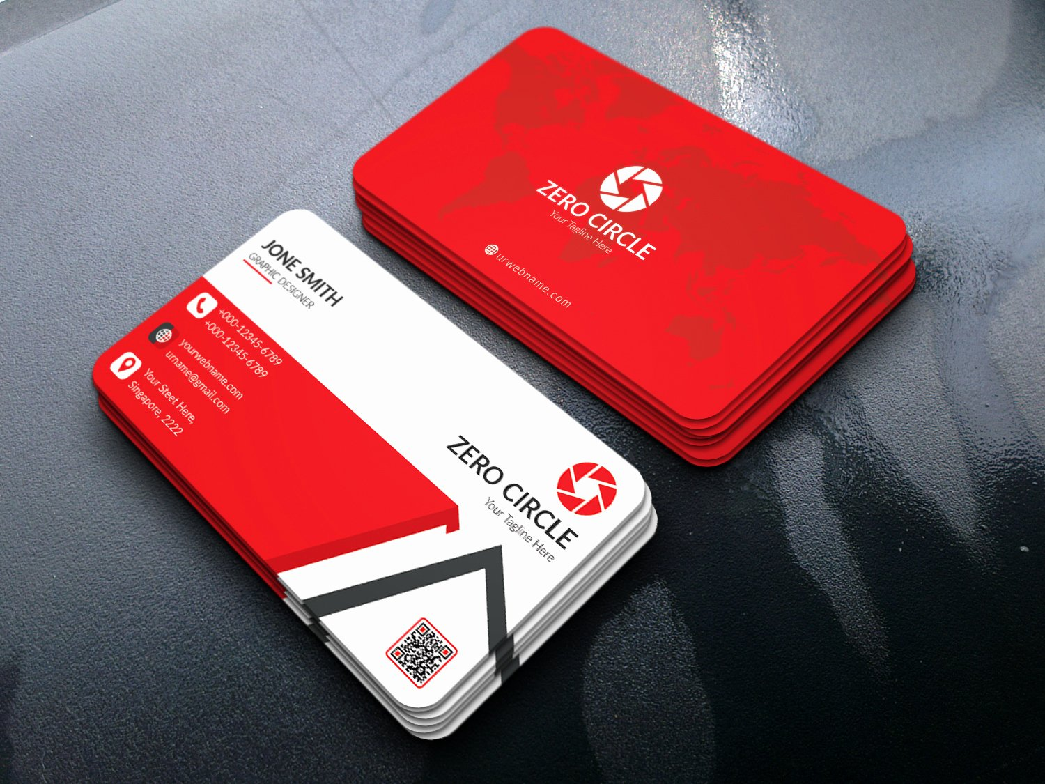 Business Card Templates Psd Free Download