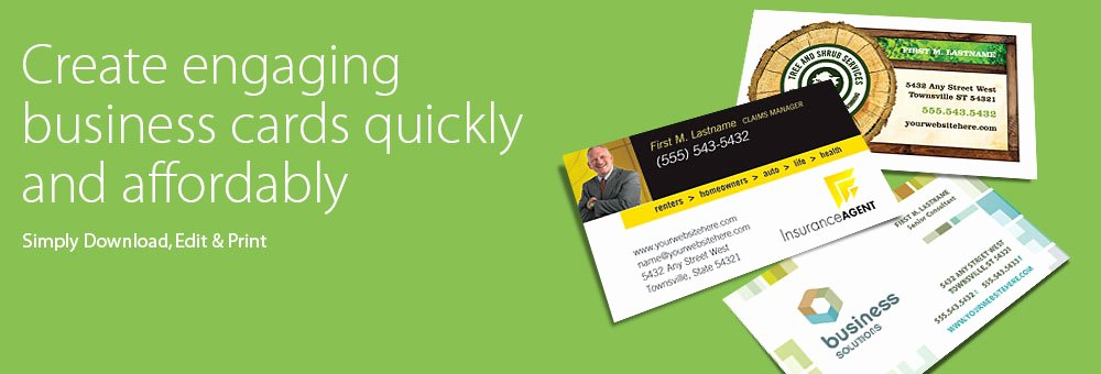 Business Card Templates Word & Publisher Microsoft