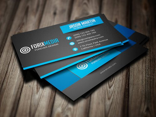 Business Cards Design Examples for Inspiration