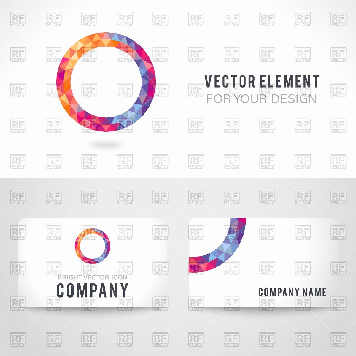 Business Cards Illustrator Template