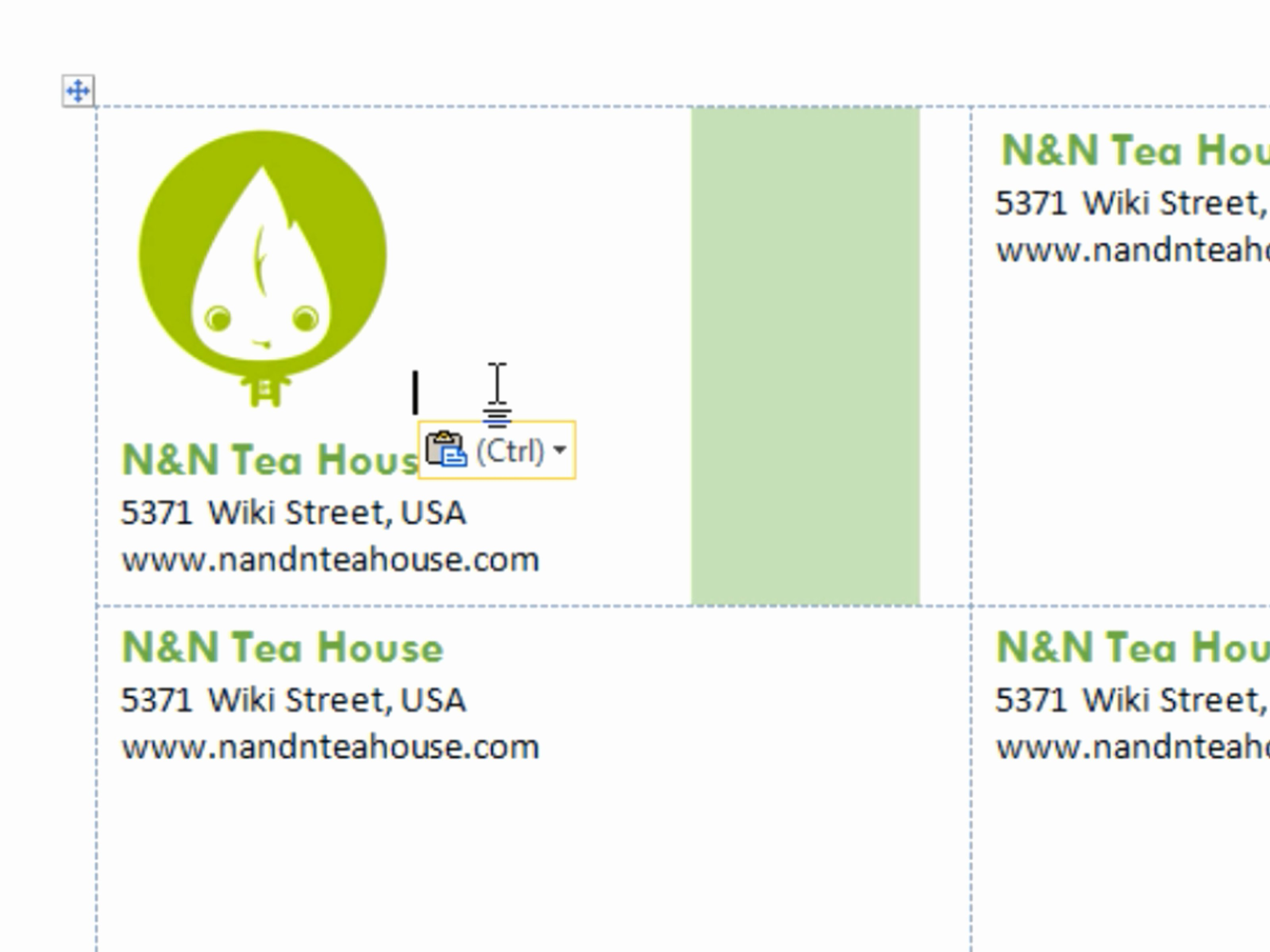 Business Cards Templates Free for Word