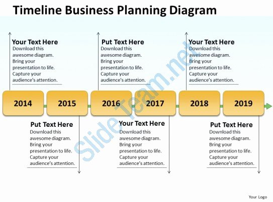 Business Diagram Examples Timeline Planning Powerpoint