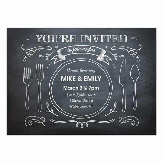 Business Dinner Invitation Email Template Templates
