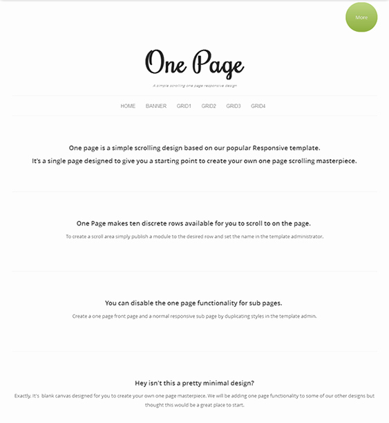 Business E Pager Template