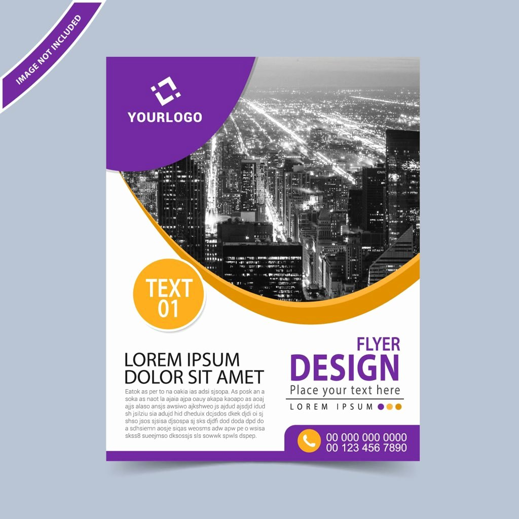 Business Flyer Design Template Free Download Wisxi