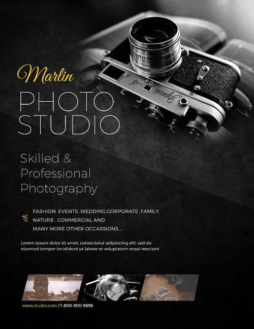 Business Flyer Templates for Graphers to Promote Business