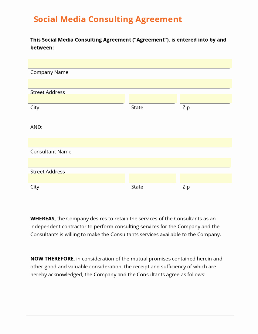 Business form Template Gallery