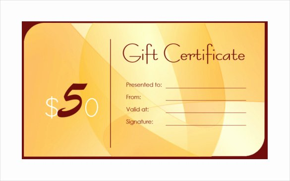 Business Gift Certificate Template – 11 Free Word Pdf