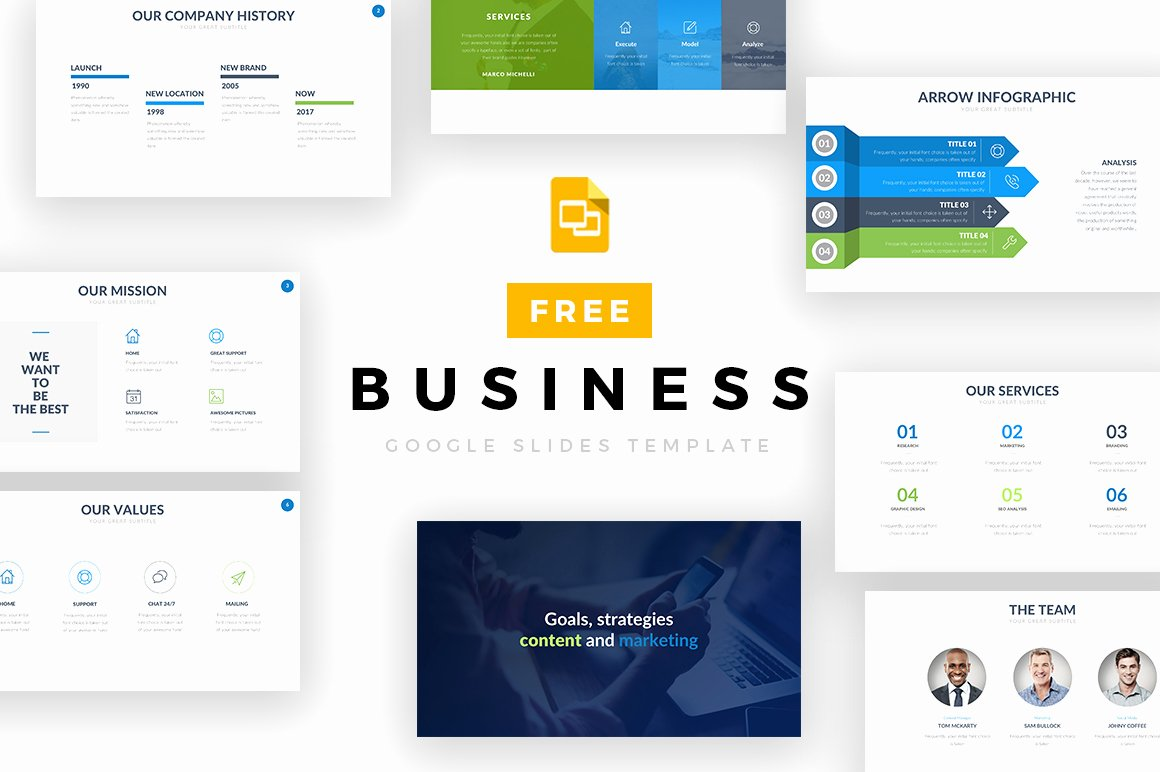 Business Google Slides Template Free Google Slides