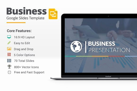 Business Google Slides Template Presentation Templates