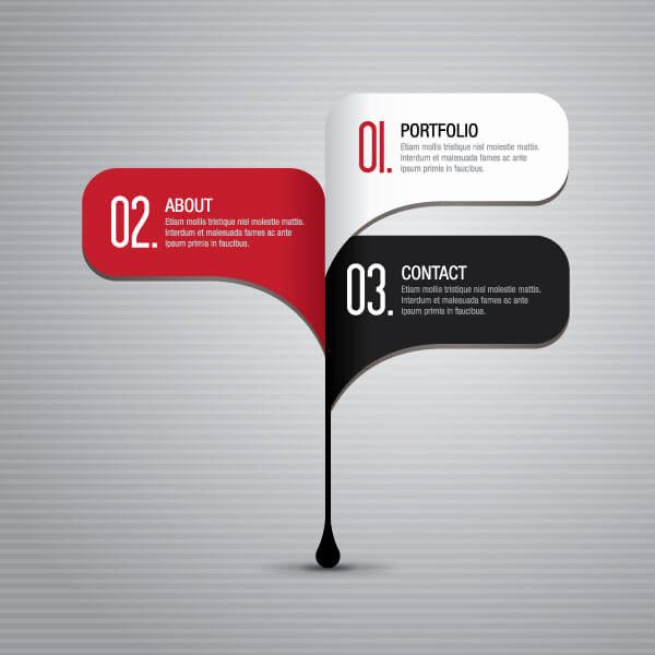 Business Infographics Steps Layout Design Template