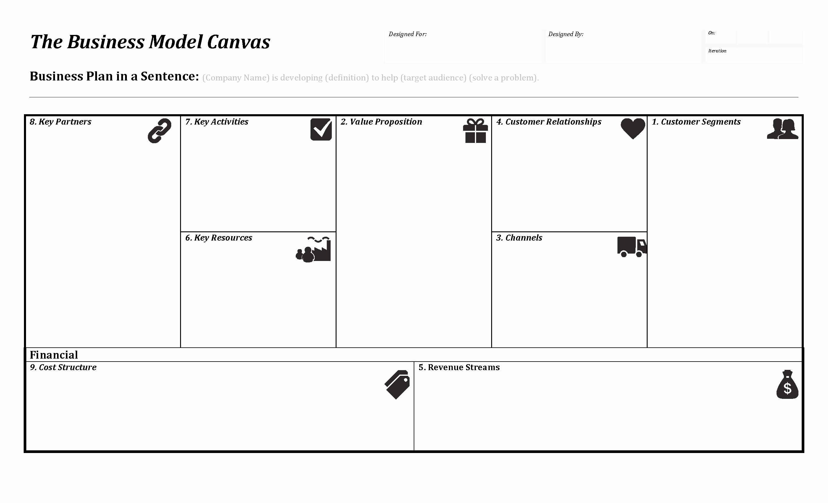 Business Model Canvas Pany 800