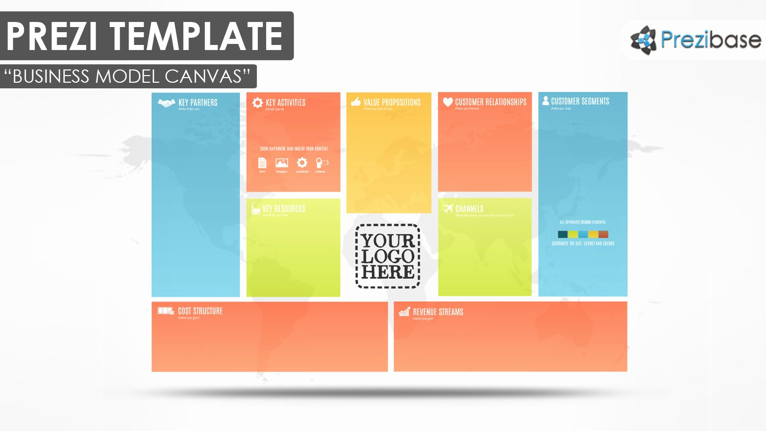 Business Model Canvas Prezi Template