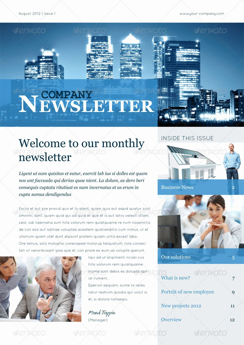 Business Newsletter Vol Ii by Corrella
