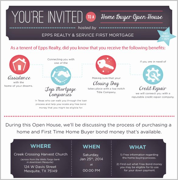 Business Open House Flyer Template Free Templates