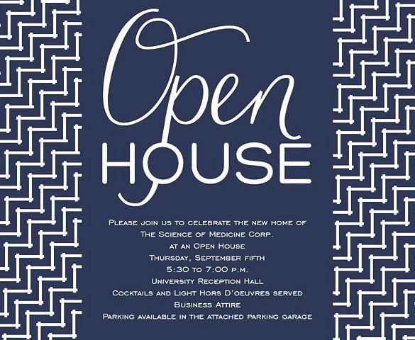 Business Open House Invitation Open House Invitation