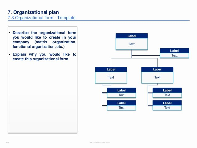 Business Plan Template Created by former Deloitte