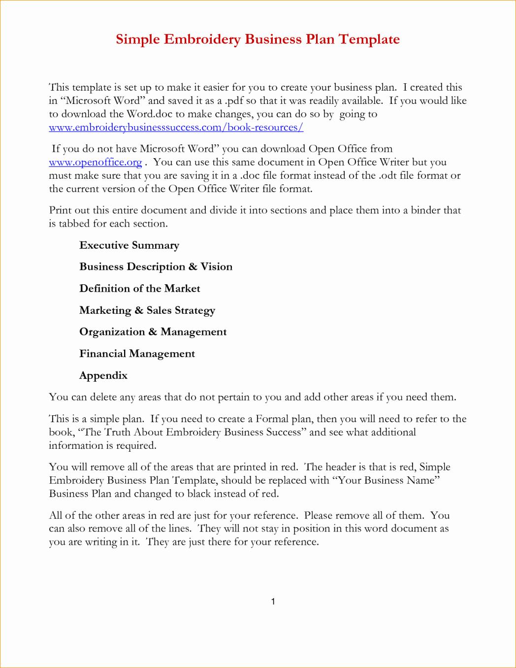 business plan template microsoft office 2007 business plan template word