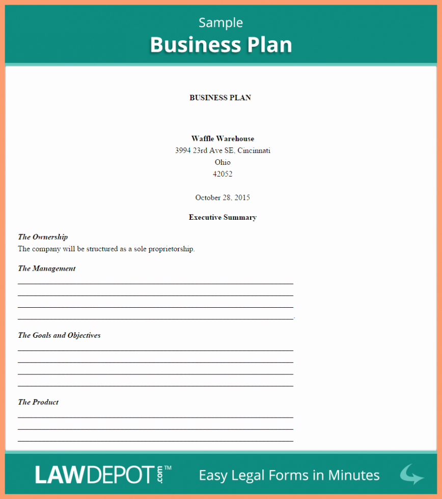 Business Plan Template Word Free Download Plans Microsoft