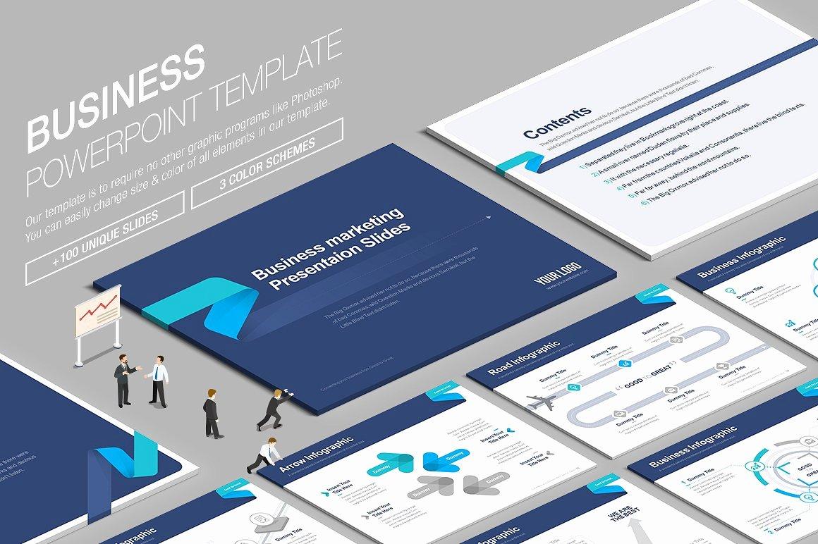 Business Powerpoint Template Vol 6 Presentation