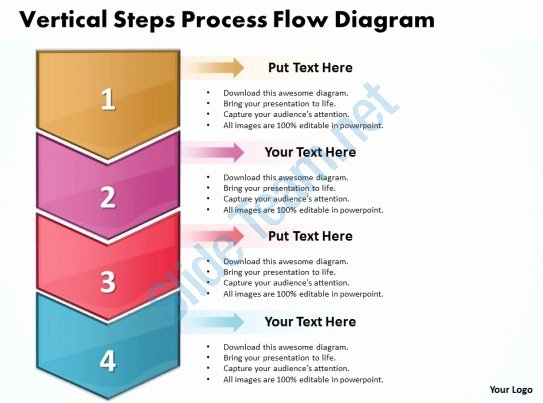 Business Powerpoint Templates Vertical Steps Process Flow