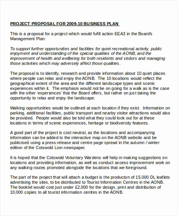Business Project Proposal Templates 6 Free Pdf format
