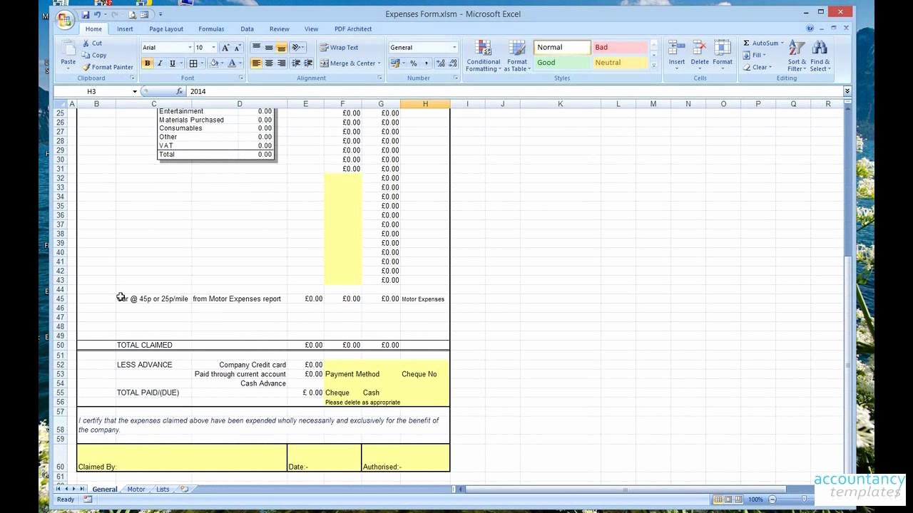 Business Spreadsheet Expenses and In E 2 Business