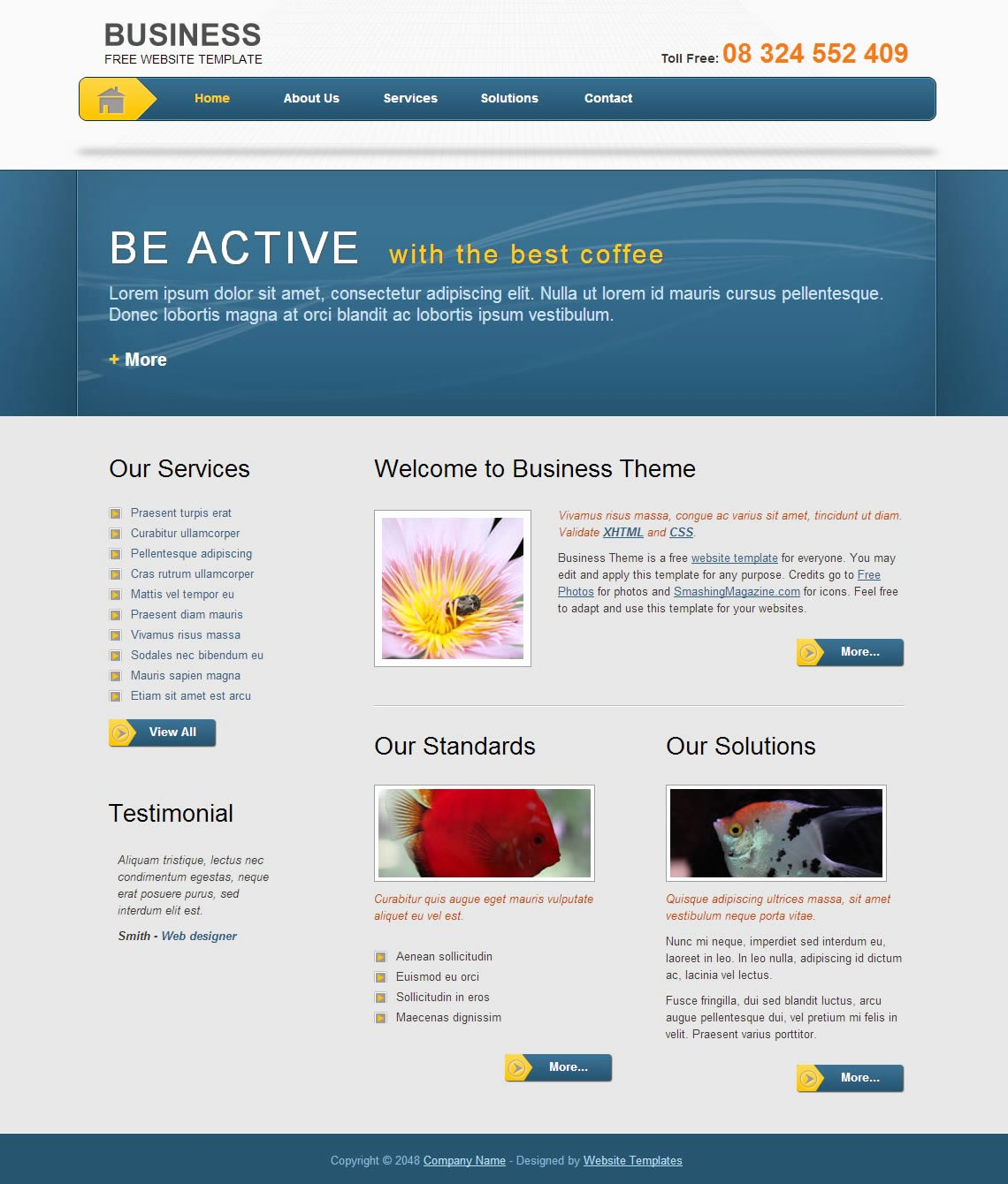 Business Template Free Templates